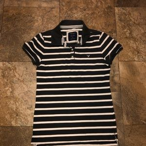 American Eagle Outfitters Tops - American Eagle polo shirts set of 3 euc size large